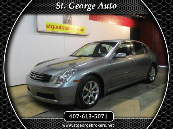 2005 *Infiniti* *G35* Sedan - Call or Text! Financing Available