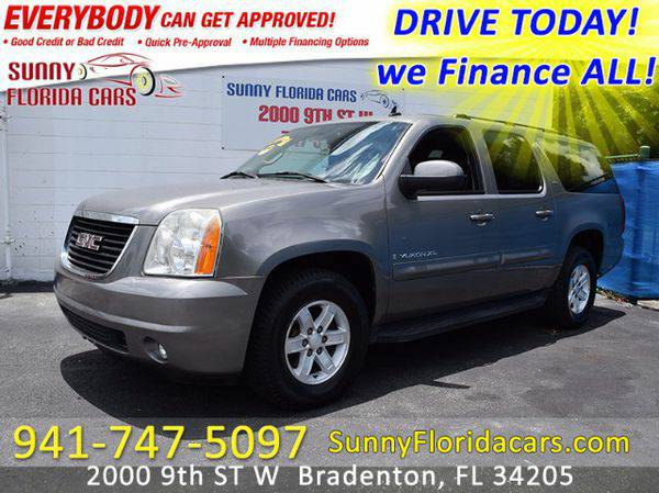 2007 *GMC* *Yukon* *XL* SLT-2 1/2 Ton 2WD - WE FINANCE ALL - EVERY ONE
