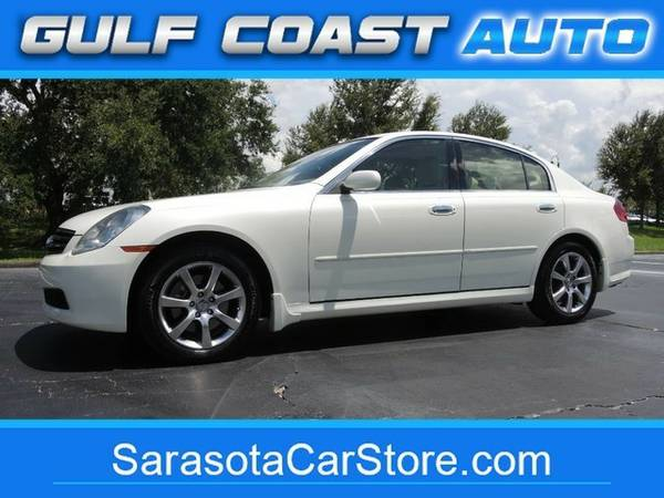 2006 *** Infiniti G35x Sedan AWD! TAN LEATHER! SUNROOF! CARFAX!