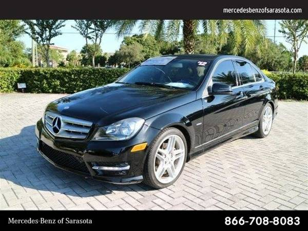 2012 Mercedes-Benz C-Class C250 Sport SKU:CA622346 Sedan