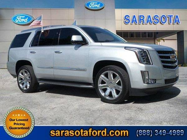 2015 *Cadillac Escalade* Luxury - (Silver) OPEN SUNDAYS