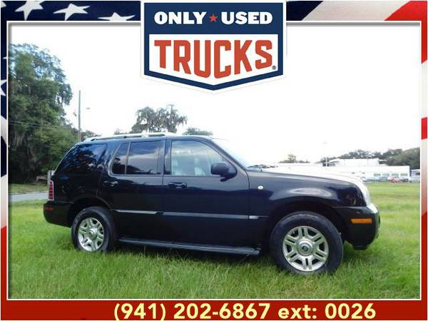 2004 *Mercury Mountaineer* Premier w/4.6L (8cyl, 4.6L, 239.0hp) WE...