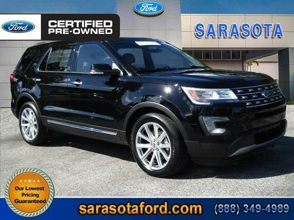 2016 *Ford Explorer* Limited - () OPEN SUNDAYS