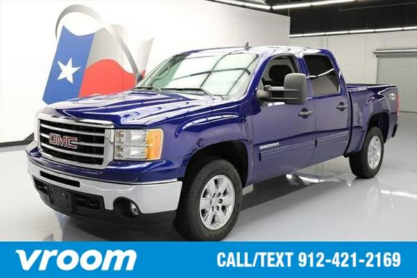 2013 GMC Sierra 1500 4x4 SLE 4dr Crew Cab 5.8 ft. SB Truck 7 DAY RETUR