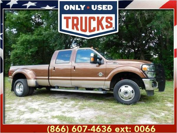 2012 *Ford F350* *F-350*F 350* Lariat 4X4 Super Duty Dually (8cyl,...