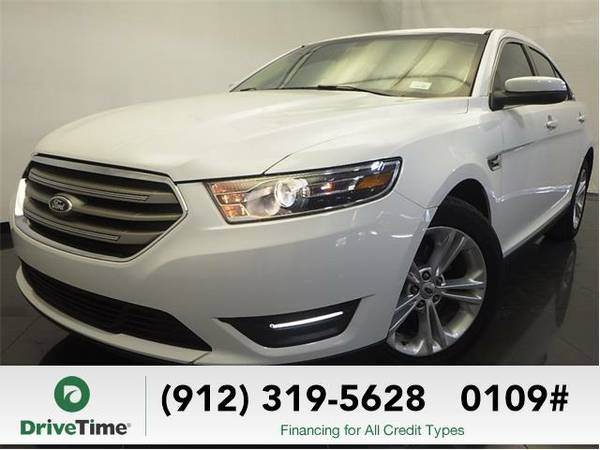 Beautiful 2014 *Ford Taurus* SEL (Oxford White) - Clean Title
