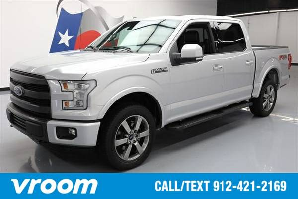 2015 Ford F-150 Lariat 4dr SuperCrew 4WD Truck 7 DAY RETURN / 3000 CAR