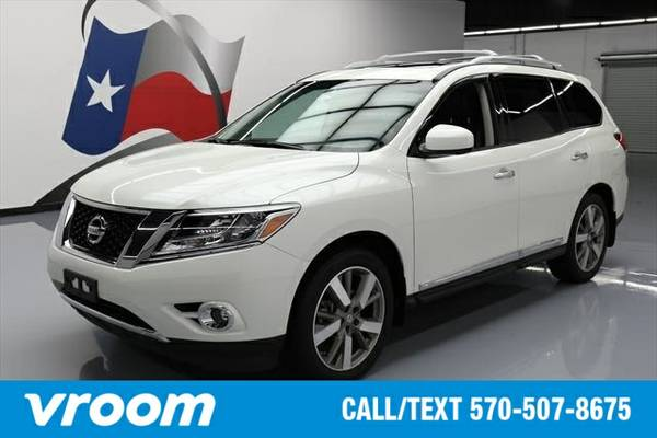 2015 Nissan Pathfinder 7 DAY RETURN / 3000 CARS IN STOCK