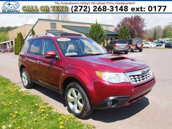 2013 *Subaru Forester* 2.5XT Touring (Red) BAD CREDIT OK!
