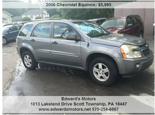 2006 Chevy Equinox LS 4x4 Financing Available