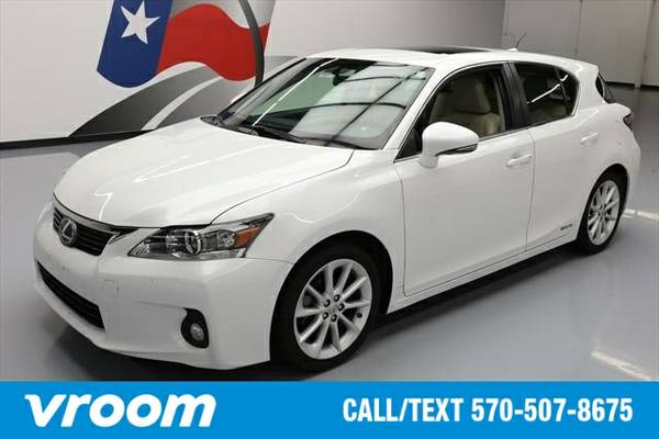 2012 Lexus CT 200h 7 DAY RETURN / 3000 CARS IN STOCK