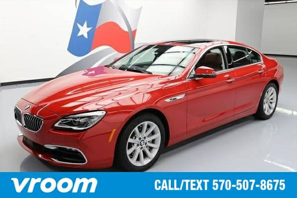 2016 BMW 640 Gran Coupe 640i Gran Coupe 4dr Sedan Sedan 7 DAY RETURN /