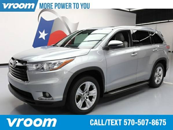 2014 Toyota Highlander Limited SUV 7 DAY RETURN / 3000 CARS IN STOCK