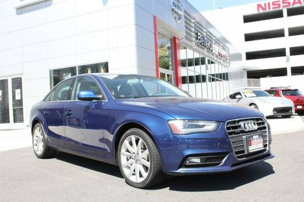 2013 *Audi* *A4* *Premium Plus* 4dr Car