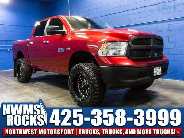 Lifted 2015 *Dodge Ram* 1500 SLT 4x4 - OFF ROAD TIRES! 2015 Dodge Ram