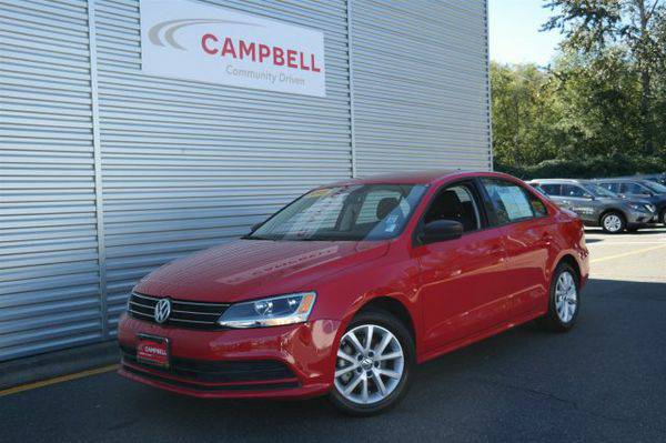 2015 *Volkswagen* *Jetta* *Sedan* 1.8T SE w/Connectivity -Text for Inf