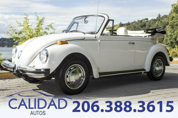 1978 Volkswagen Beetle CONVERTIBLE VW ****OR BEST OFFER*****