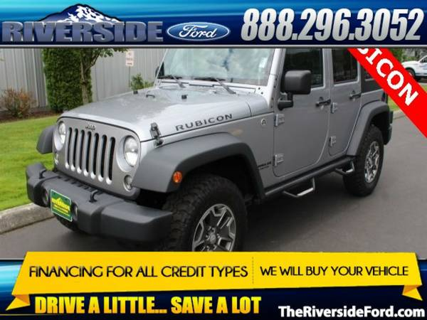 2014 Jeep Wrangler 4D Sport Utility Unlimited Rubicon
