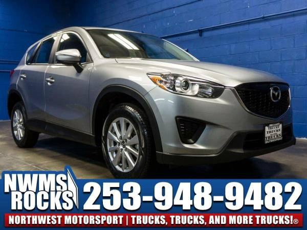 2015 *Mazda CX5* Sport FWD - 2015 Mazda CX-5 Sport FWD Manual SUV-Stee