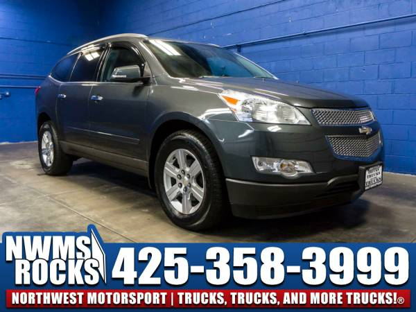 2011 *Chevrolet Traverse* LT AWD - Steering Audio Controls! 2011 Chevr