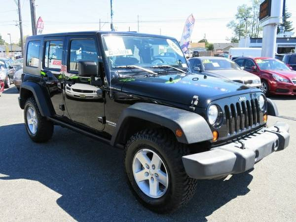 2007 Jeep Wrangler 4D Sport Utility Unlimited Rubicon