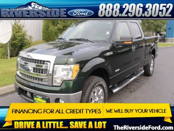 2013 Ford F-150 4D SuperCrew XLT