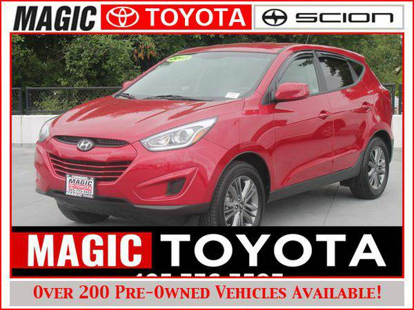 2015 *Hyundai* *Tucson* GLS AWD RATES AS LOW AS 0% OAC ON SELECT MODEL
