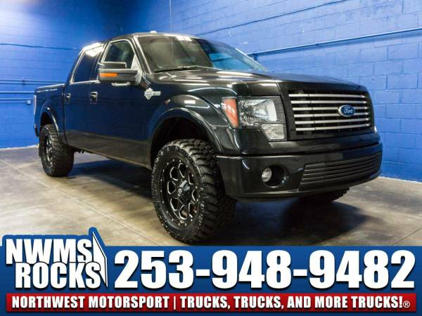 Lifted 2011 *Ford F150* Harley Davidson 4x4 - Sunroof! 2011 Ford F-150