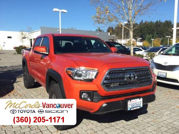 2016 Toyota Tacoma TRD 4WD V6 Fuel Efficient Low Miles Truck 16