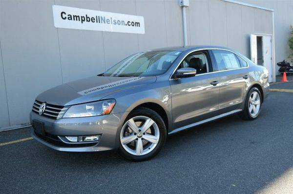 Certified 2015 *Volkswagen* *Passat* 1.8T Limited Edition -Text for In