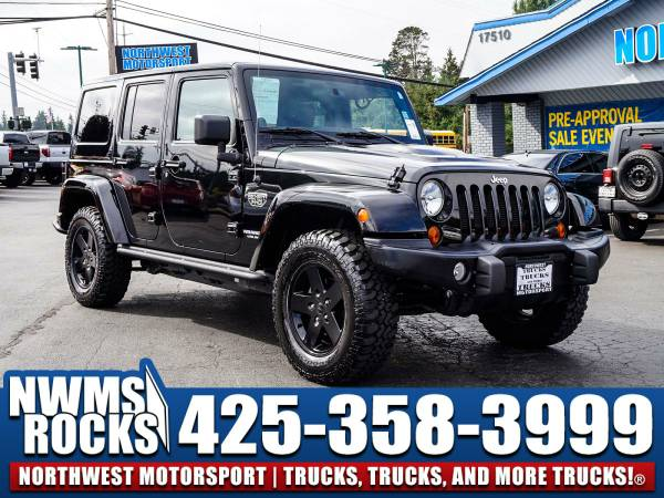 2012 *Jeep Wrangler* Unlimited Rubicon MW3 4x4 -