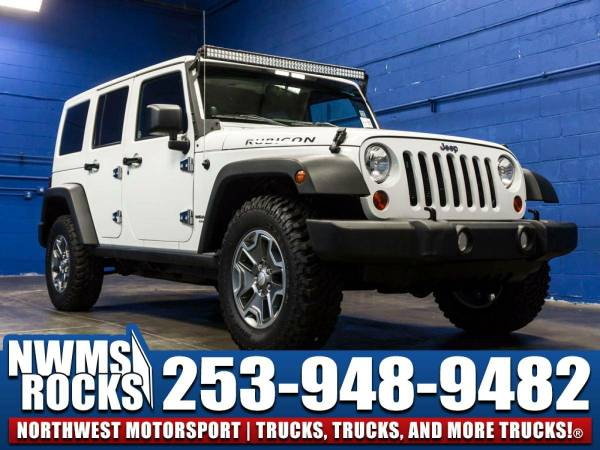 2013 *Jeep Wrangler* Unlimited Rubicon 4x4 -