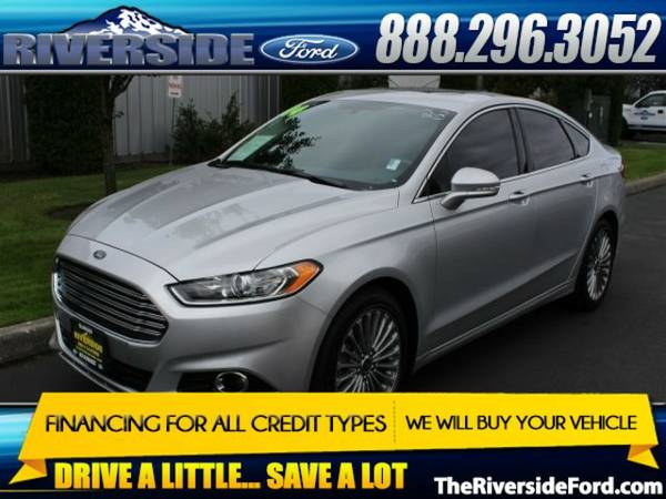 2014 Ford Fusion 4D Sedan Titanium