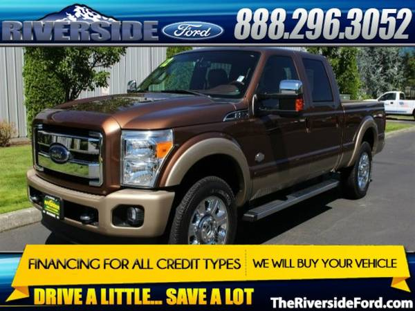 2012 Ford F-250SD 4D Crew Cab King Ranch