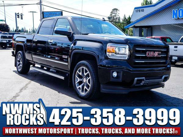 2015 *GMC Sierra* 1500 All Terrain 4x4 - Clean Carfax History! 2015 GM