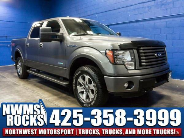 2012 *Ford F150* FX4 4x4 - 3.5L Ecoboost! 2012 Ford F-150 FX4 4x4 Truc