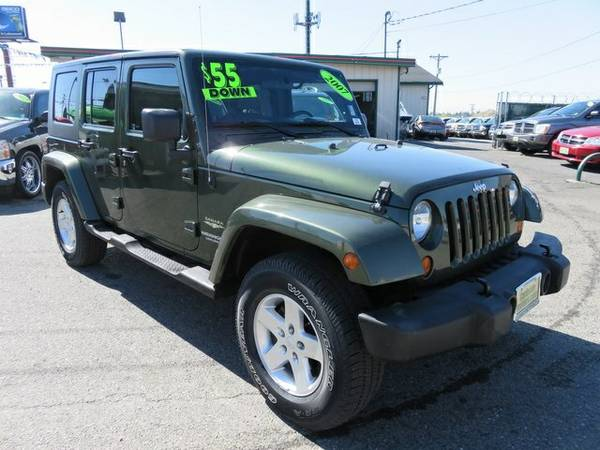 2007 Jeep Wrangler 4D Sport Utility Unlimited Sahara