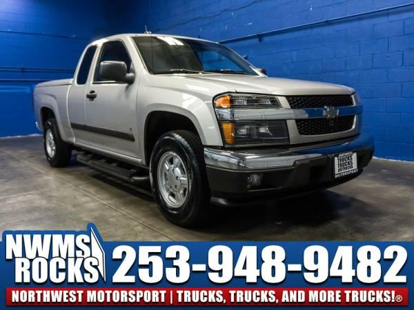 2008 *Chevrolet Colorado* LT RWD - 2008 Chevrolet Colorado LT RWD Truc