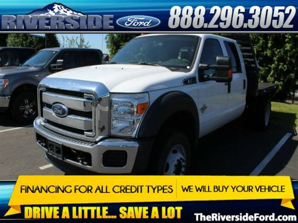 2015 Ford F-450SD 4D Crew Cab