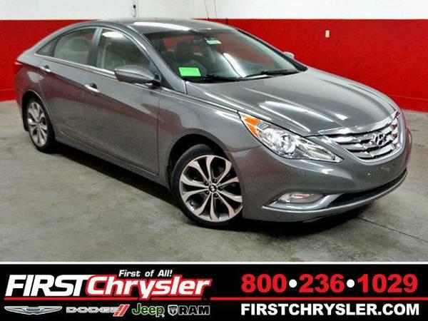 2013 *Hyundai Sonata* SE 2.0T - Hyundai Harbor Gray Metallic