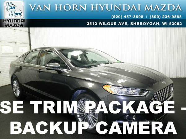 2016 *Ford Fusion* SE - Magnetic BAD CREDIT OK!