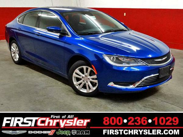 2015 *Chrysler 200* Limited - Chrysler Vivid Blue Pearlcoat