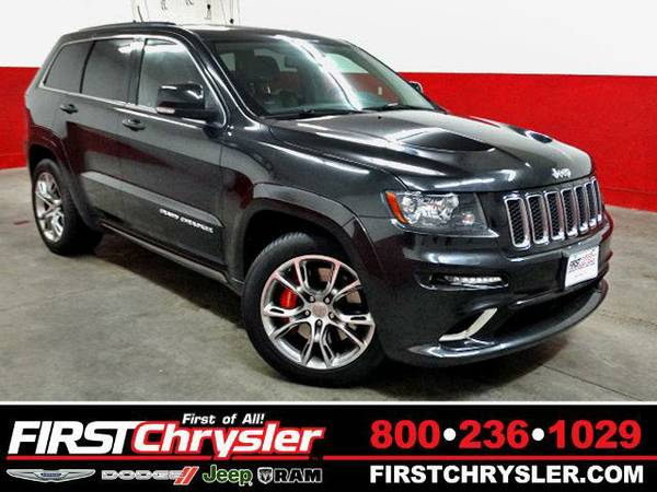 2013 *Jeep Grand Cherokee* SRT8 - Jeep Brilliant Black Crystal...