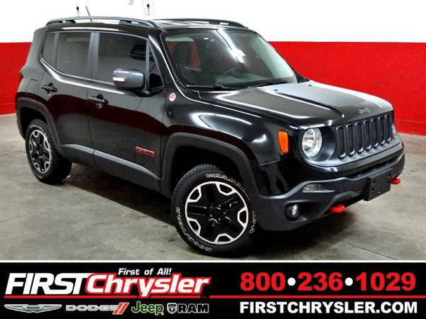 2015 *Jeep Renegade* Trailhawk - Jeep Black