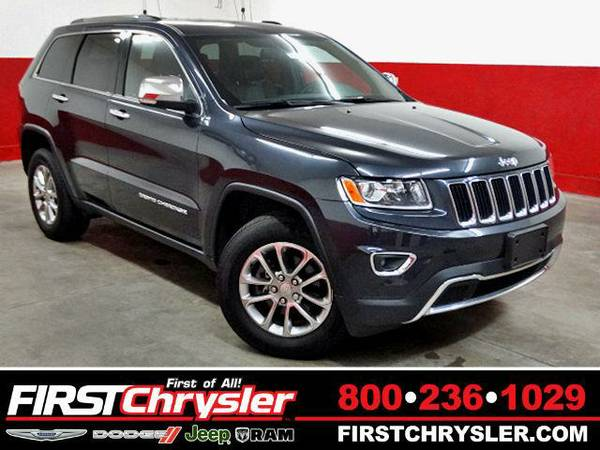 2015 *Jeep Grand Cherokee* Limited - Jeep Maximum Steel Metallic...