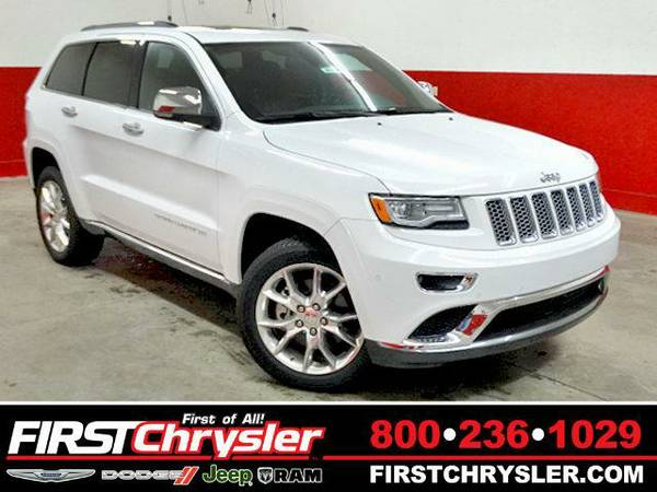2015 *Jeep Grand Cherokee* Summit-4x4 - Jeep Bright White Clearcoat