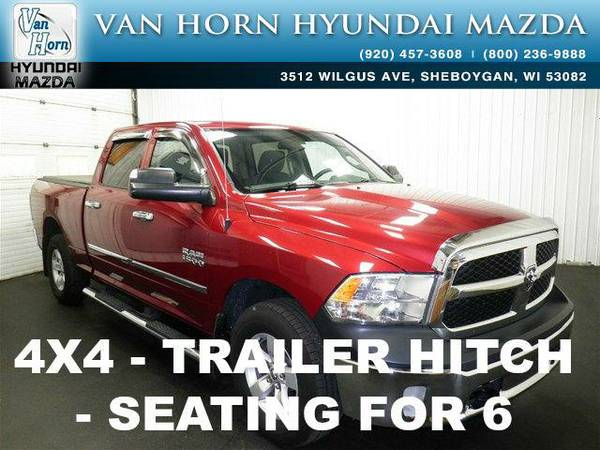 2013 *RAM 1500* Tradesman - Flame Red Clearcoat BAD CREDIT OK!