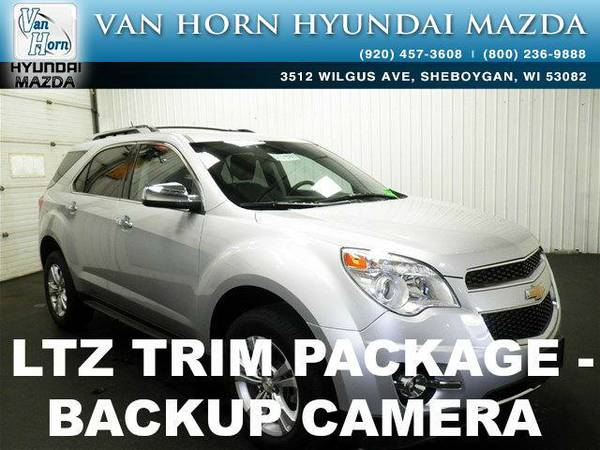 2013 *Chevrolet Equinox* LTZ - Silver Ice Metallic BAD CREDIT OK!