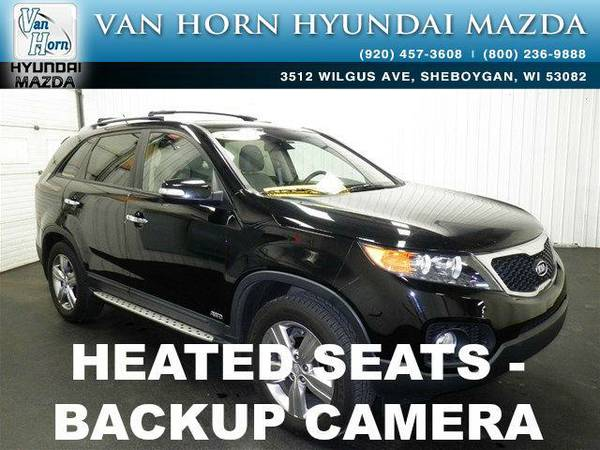 2013 *Kia Sorento* EX V6 AWD - Ebony Black BAD CREDIT OK!