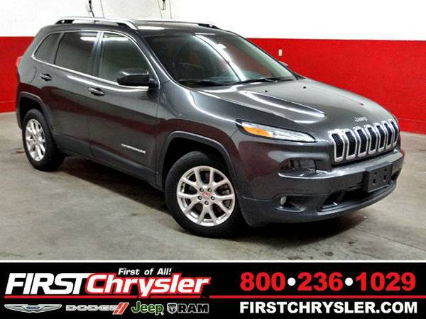 2015 *Jeep Cherokee* Latitude - Jeep Granite Crystal Metallic...